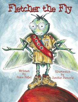 Cover of Fletcher the Fly childrens book